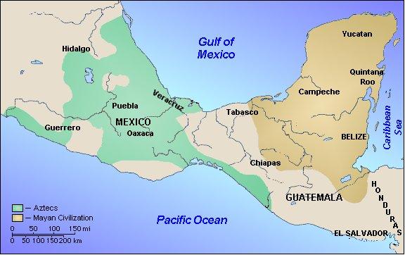 Aztecciv Geography